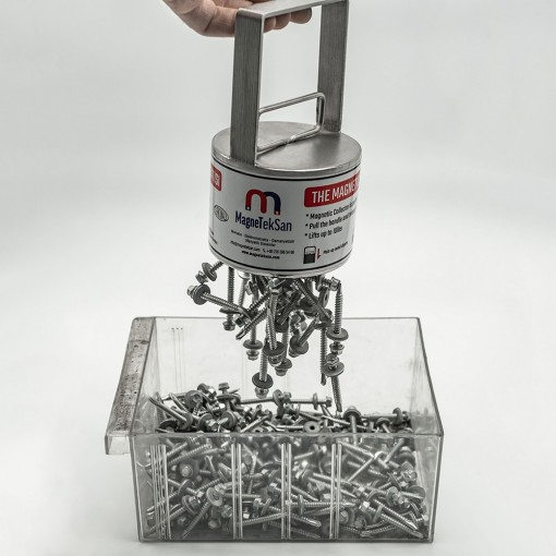 Çek - Bırak El Mıknatısı (Metal Toplayıcı Manyetik Süpürge)