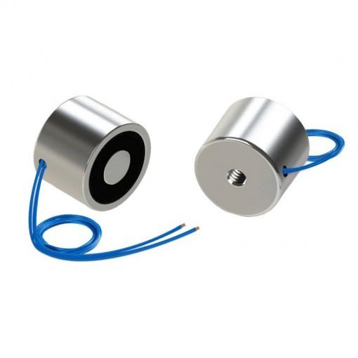 40x40 mm Elektromıknatıs - Yüksek Güçlü, Su Geçirmez