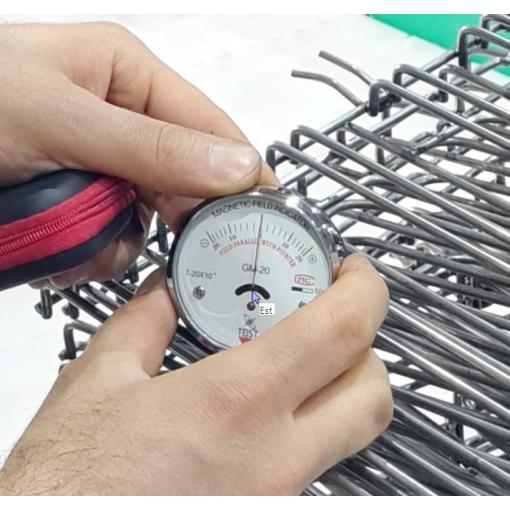 Analog Manyetik Alan Gaussmetre Cihazı - Cep Tipi