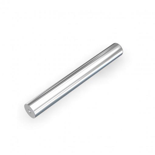 Manyetik Bar Mıknatıs - 25x150 mm - İki Tarafı Vidalı